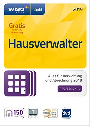 WISO Hausverwalter 2019 Professional - Die Profisoftware für alle Vermieter und Hausverwaltungen (Frustfreie Verpackung)