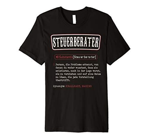 Steuerberater T-Shirt. Lustige Wörterbuch Definition
