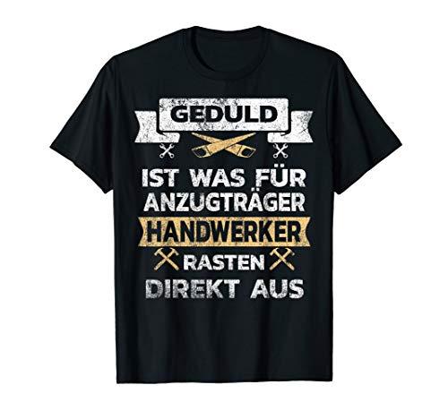 Lustiges Vintage Shirt für Handwerker Geschenk T-Shirt