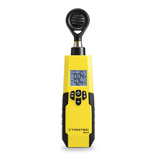 TROTEC BQ16 HCHO/TVOC-Messgerät Formaldehyd VOC-Konzentration Luftqualität